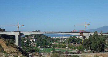 H γέφυρα του περιμετρικού στον Νέδοντα