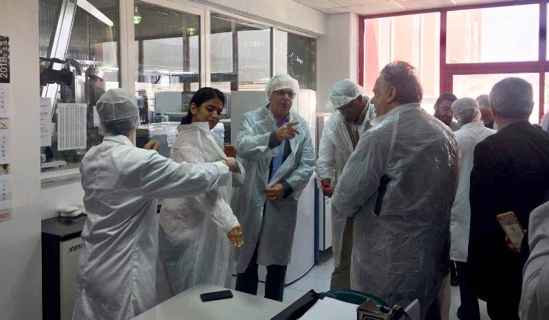 Στην βιομηχανία επεξεργασίας και εμπορίας ελιάς και ελαιολάδου Agrovim