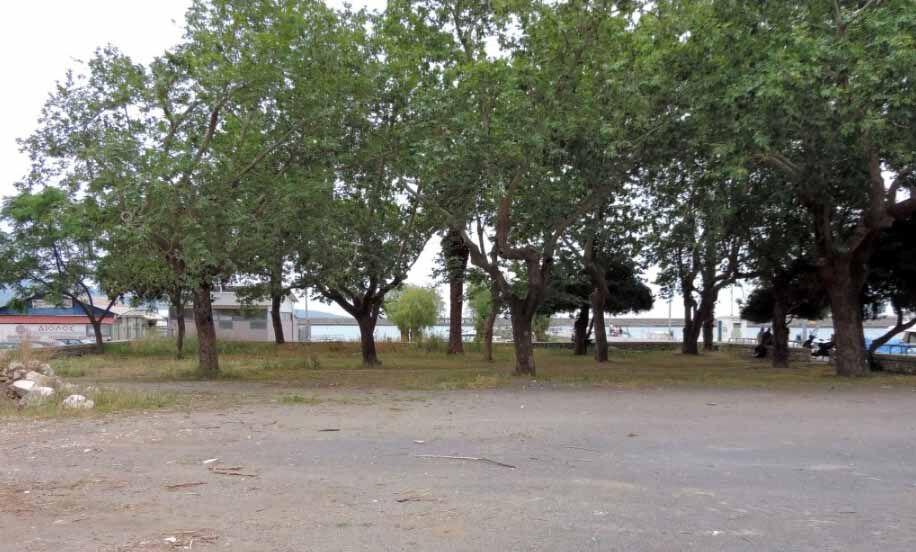 """Ο χώρος όπου θα κατασκευαστεί το πάρκο του """"Πανελληνίου"""""""