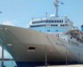 """Το κρουαζιερόπλοιο """"Marella Celebration"""" στην Καλαμάτα"""