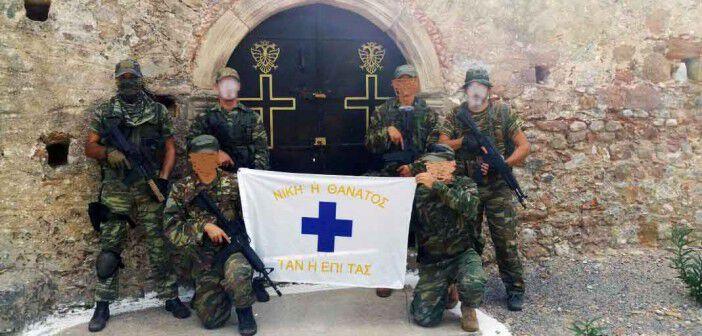 """Η φωτο από τη σελίδα του facebook """"Εθελοντές Έφεδροι Καλαμάτας"""", που είναι συντονιστής της αντίστοιχης σελίδας του Συνδέσμου Εφέδρων Αξιωματικών Μεσσηνίας"""