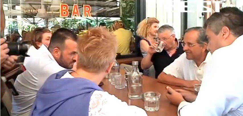 Το τραπέζι του κ. Σαμαρά