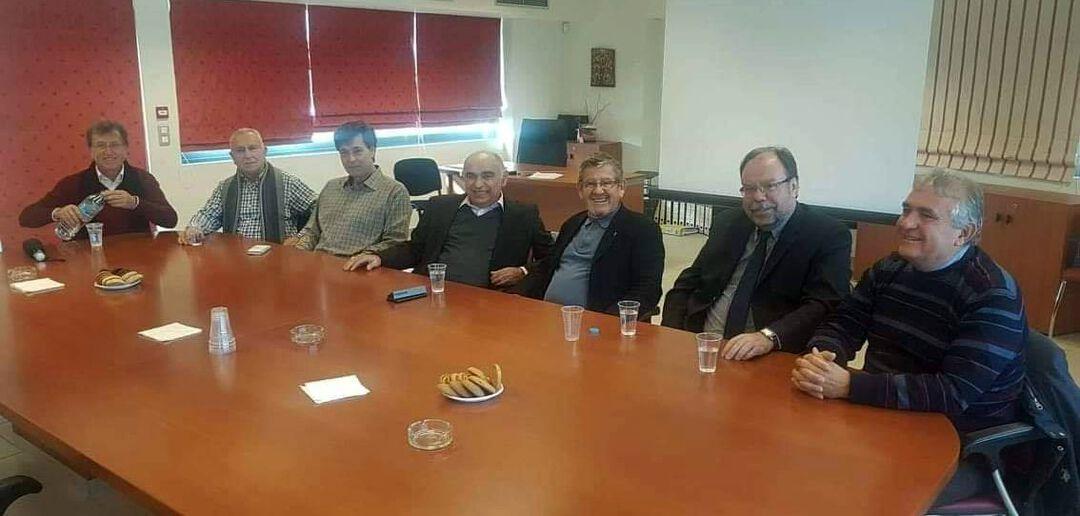 Ο κ. Μπουντρούκας στον Προμηθευτικό Συνεταιρισμό Φαρμακοποιών Νοτίου Πελοποννήσου (ΣΥΦΑΝΟΠΕ),
