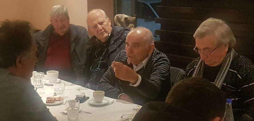 """Συνάντηση με φίλους της """"Πελοποννησιακής Συμμαχίας"""" στους Γαργαλιάνους"""