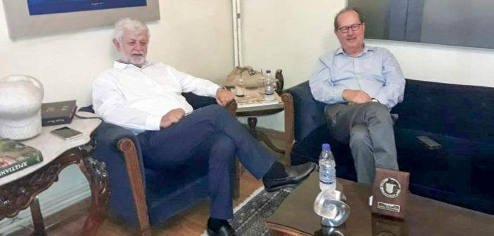 Συνάντηση του Π. Νίκα με τον δήμαρχο Τρίπολης