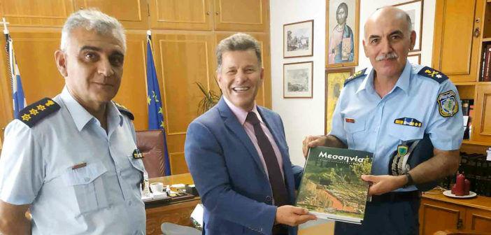 Οι αστυνομικές αρχές στον Αντιπεριφερειάρχη Μεσσηνίας