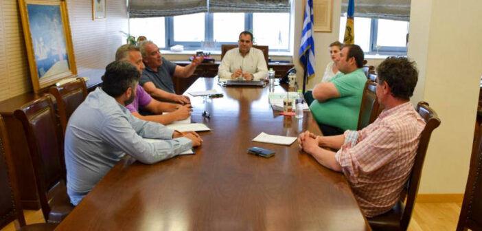 Σύσκεψη του Δημάρχου Καλαμάτας με Προέδρους Κοινοτήτων